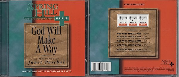 Monthly Special - God Will Make A Way - Vocal Track<br>  $4.99